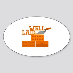 Well laid Sticker