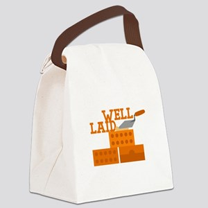 Well laid Canvas Lunch Bag