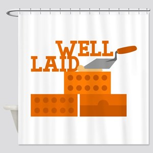 Well laid Shower Curtain
