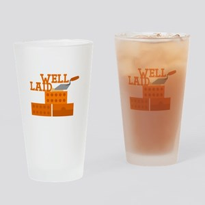 Well laid Drinking Glass