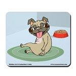 Happy Pug Mousepad