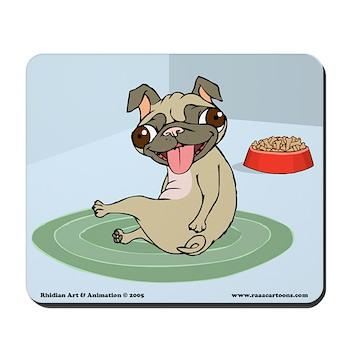 Happy Pug Mousepad