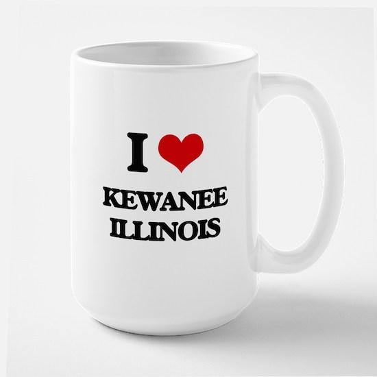 I love Kewanee Illinois Mugs