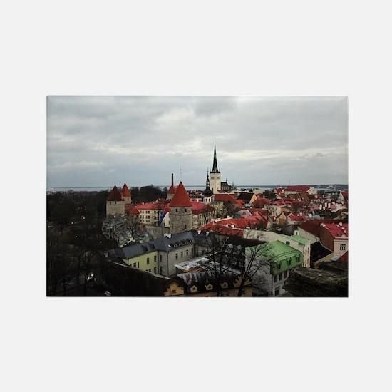 On Top of Tallinn Rectangle Magnet