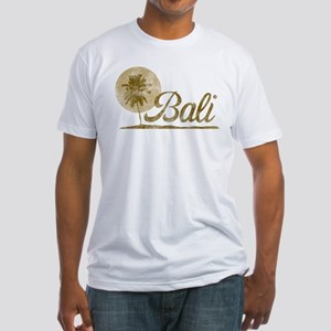 Palm Tree Bali Fitted T-Shirt
