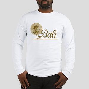 Palm Tree Bali Long Sleeve T-Shirt