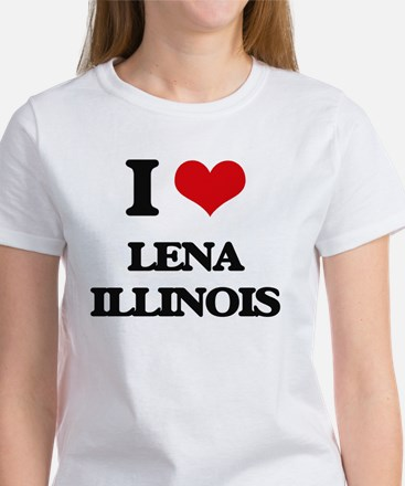 I love Lena Illinois T-Shirt