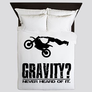Gravity? Motocross Queen Duvet