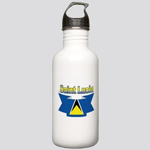 St Lucia Ribbon Stainless Water Bottle 1.0L