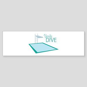Varsity Dive Bumper Sticker