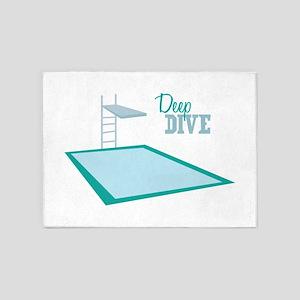 Deep Dive 5'x7'Area Rug