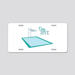 Swimming Pool Aluminum License Plate