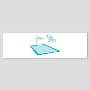 Swimming Pool Bumper Sticker