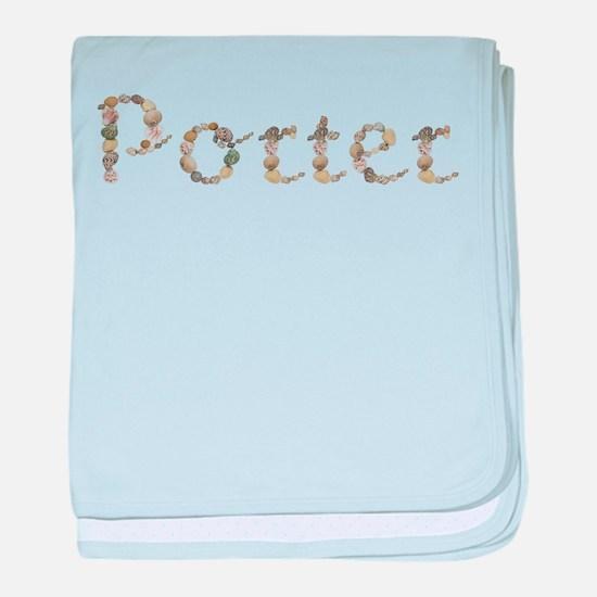 Porter Seashells baby blanket
