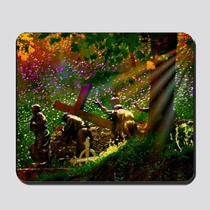 Way of the Cross Mousepad