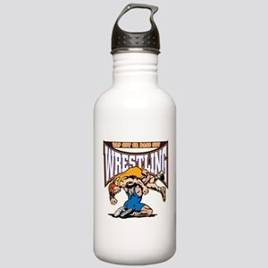 Tap Out or Pass Out Wr Stainless Water Bottle 1.0L