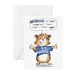 Cartoon Hamster Greeting Cards (Pk of 20)