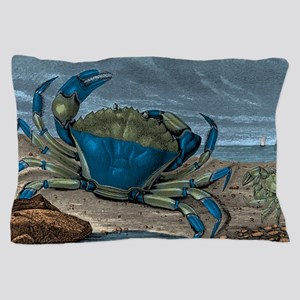 Blue Crabs Pillow Case