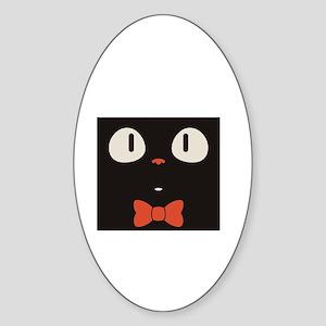 Penguin Vintage Sticker (Oval)