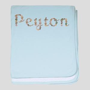Peyton Seashells baby blanket