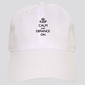 Keep Calm and Defiance ON Cap