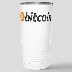 Bitcoin Logo Stainless Steel Travel Mug