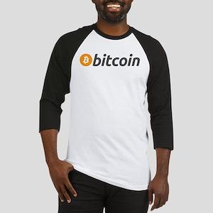 Bitcoin logo Baseball Jersey