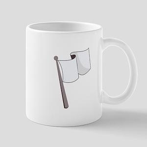 Waving White Flag Mugs