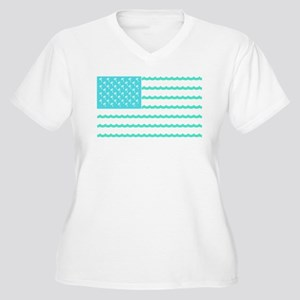 American Flag Plus Size T-Shirt