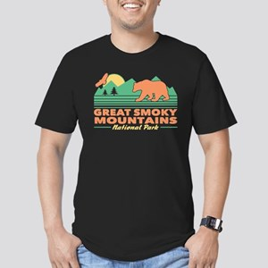 Great Smoky Mountains Men's Fitted T-Shirt (dark)