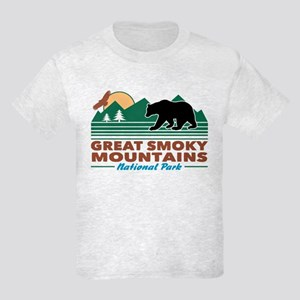 Great Smoky Mountains Kids Light T-Shirt