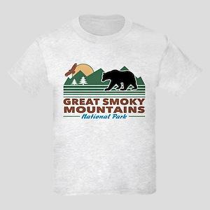 Great Smoky Mountains Kids Light T-Shirt