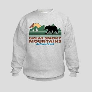 Great Smoky Mountains Kids Sweatshirt