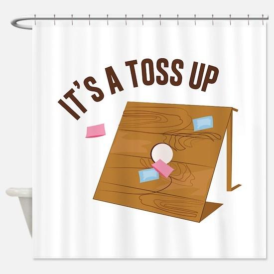Toss Up Shower Curtain