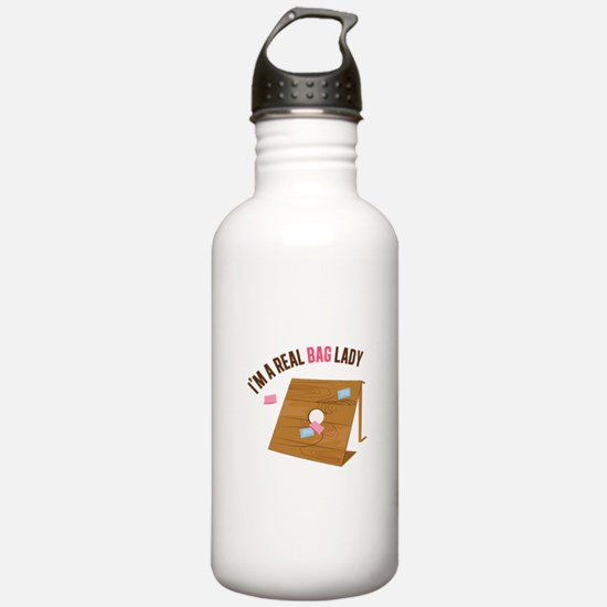 Real Bag Lady Water Bottle
