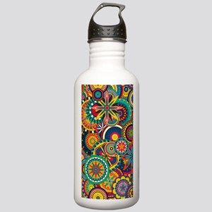 Funky Retro Pattern Stainless Water Bottle 1.0L