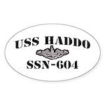 USS HADDO Sticker (Oval)