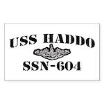 USS HADDO Sticker (Rectangle)