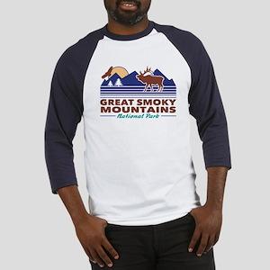 Great Smoky Mountains Baseball Tee