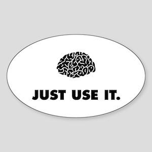 Use It Sticker (Oval)