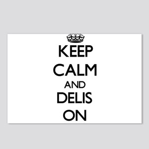 Keep Calm and Delis ON Postcards (Package of 8)