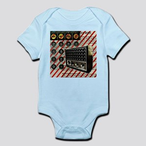 geeky retro radio Body Suit