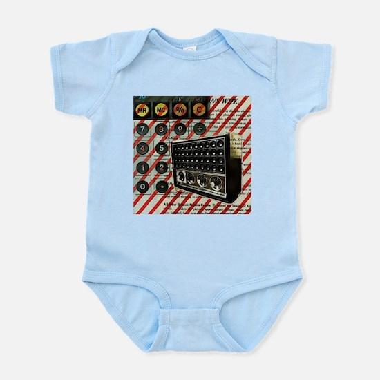 geeky retro radio Body Suit