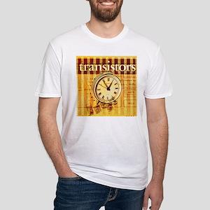 vintage scripts retro clock T-Shirt