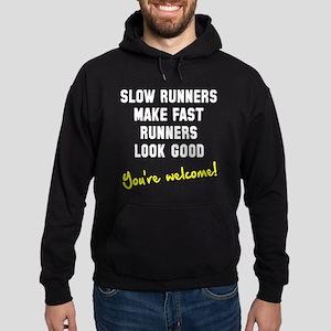 Slow runners Hoodie (dark)