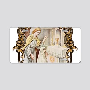 Light of the Altar Aluminum License Plate