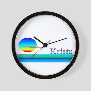 Krista Wall Clock