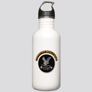 FBI HRT with Text Stainless Water Bottle 1.0L