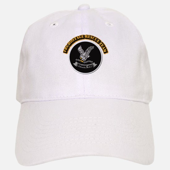 FBI HRT with Text Baseball Baseball Cap