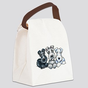 Schnauzer Company Canvas Lunch Bag